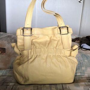 Vintage DKNY leather bag